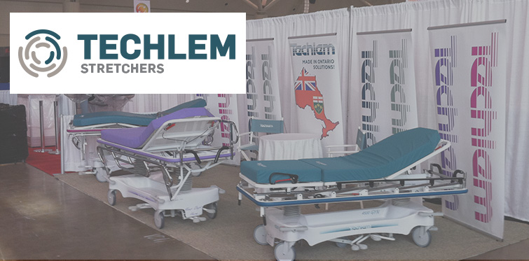 Techlem Exhibit Booth At Conference