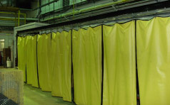 Lead Curtains Install At Nuclear Facility