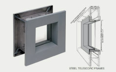 Lead Window Frame With 3D Concept